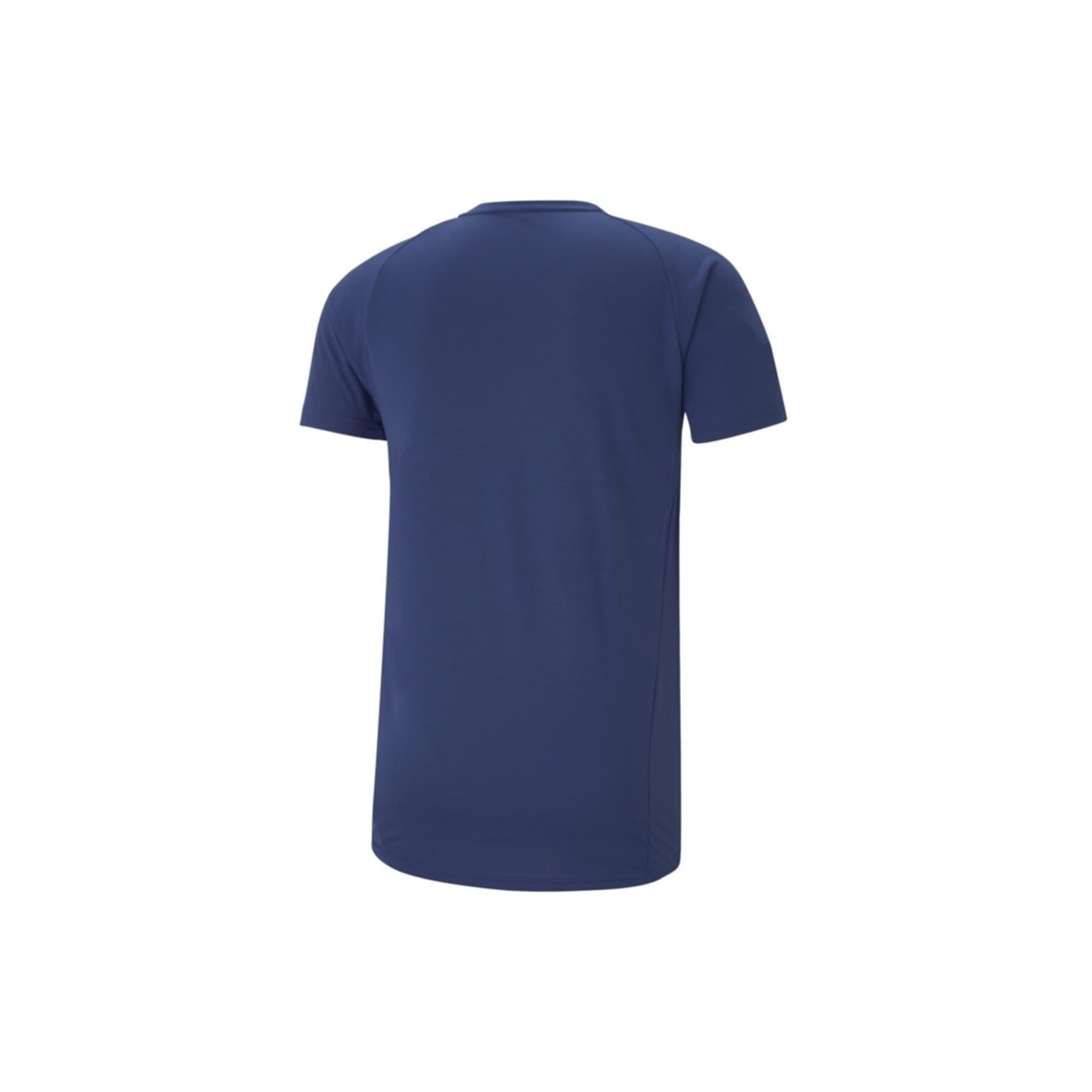 Evostripe Erkek Mavi Tişört (585806-12)