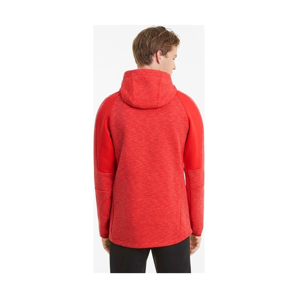 Evostripe Erkek Kırmızı Sweatshirt (585809-11)