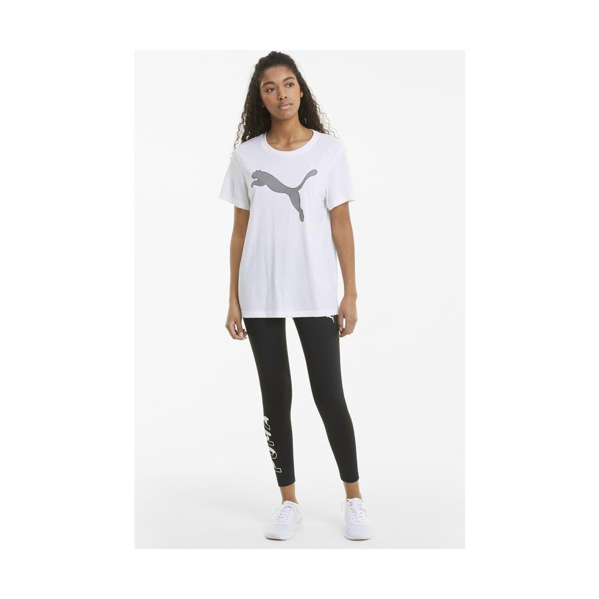 Evostripe Kadın Beyaz Spor Tişört (585941-02)