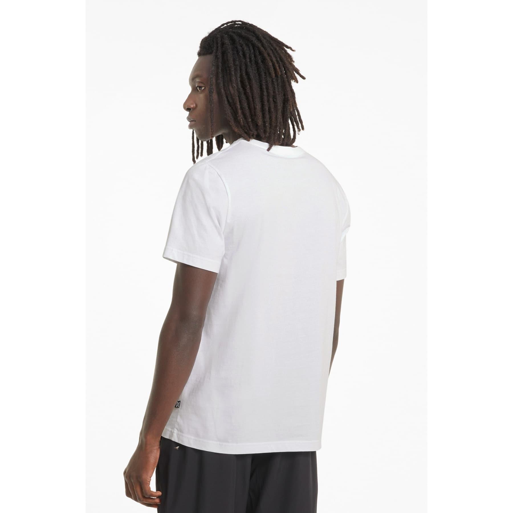 Essentials Logo Erkek Beyaz Tişört (586666-02)