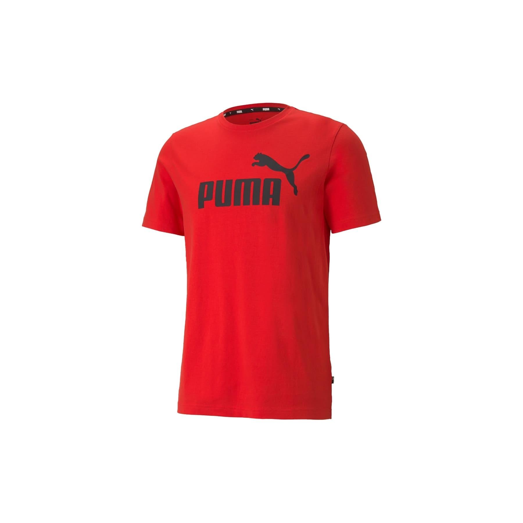 Essentials Logo Erkek Kırmızı Tişört (586666-11)