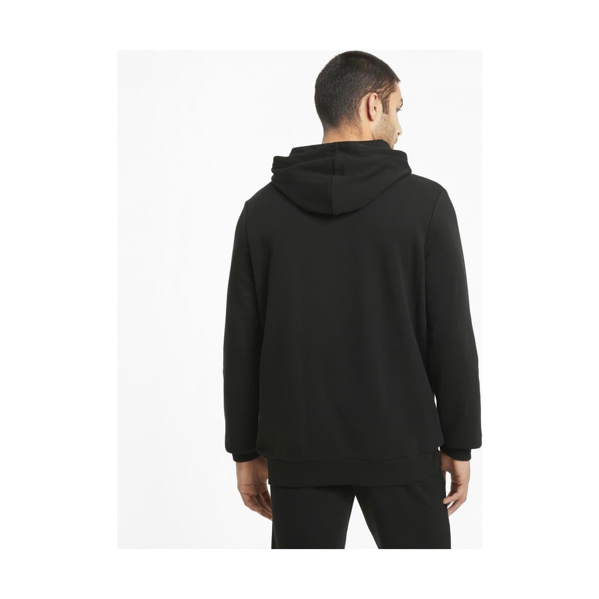 Essentials Big Logo Erkek Siyah Sweatshirt (586688-01)
