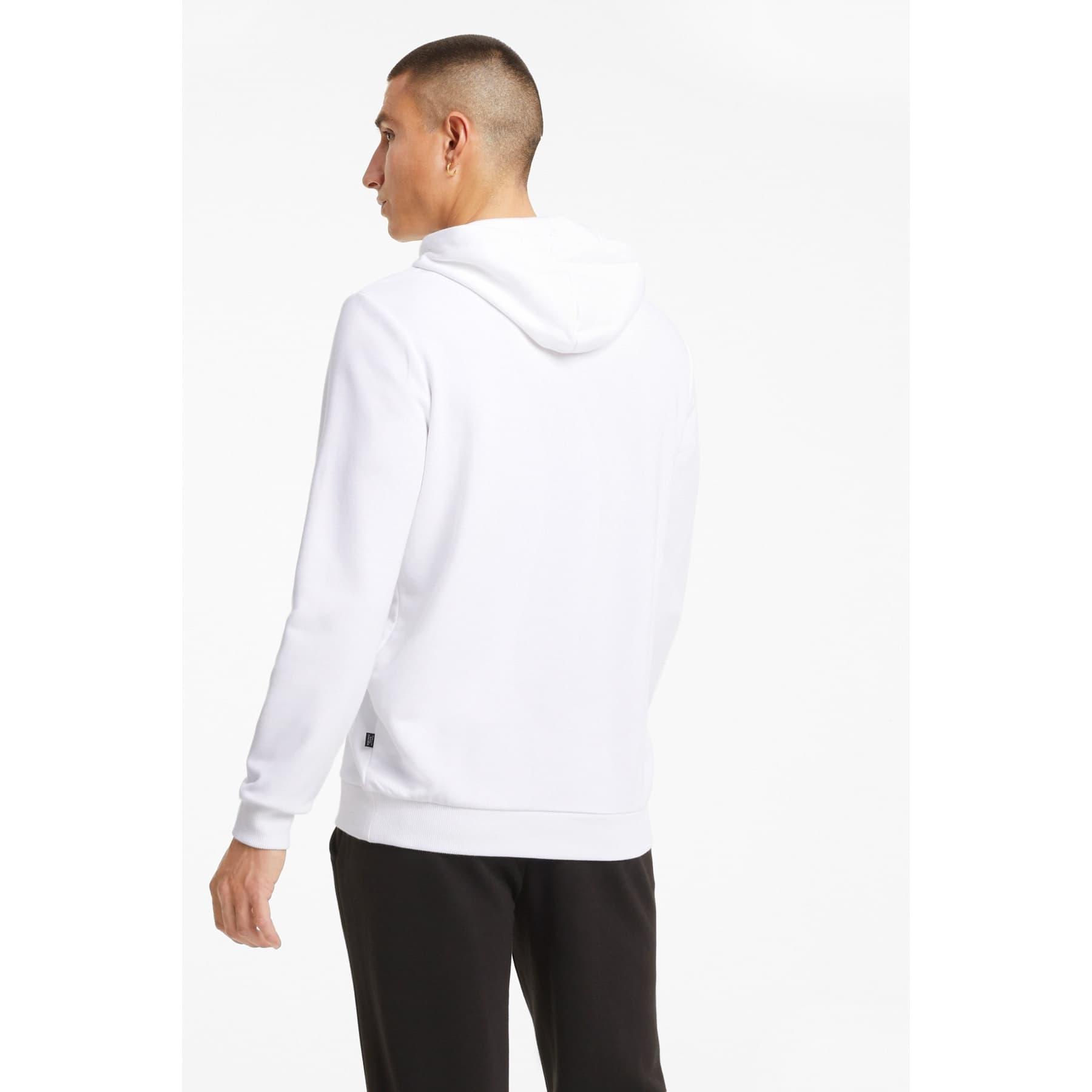 Essentials Big Logo Erkek Beyaz Sweatshirt (586688-02)