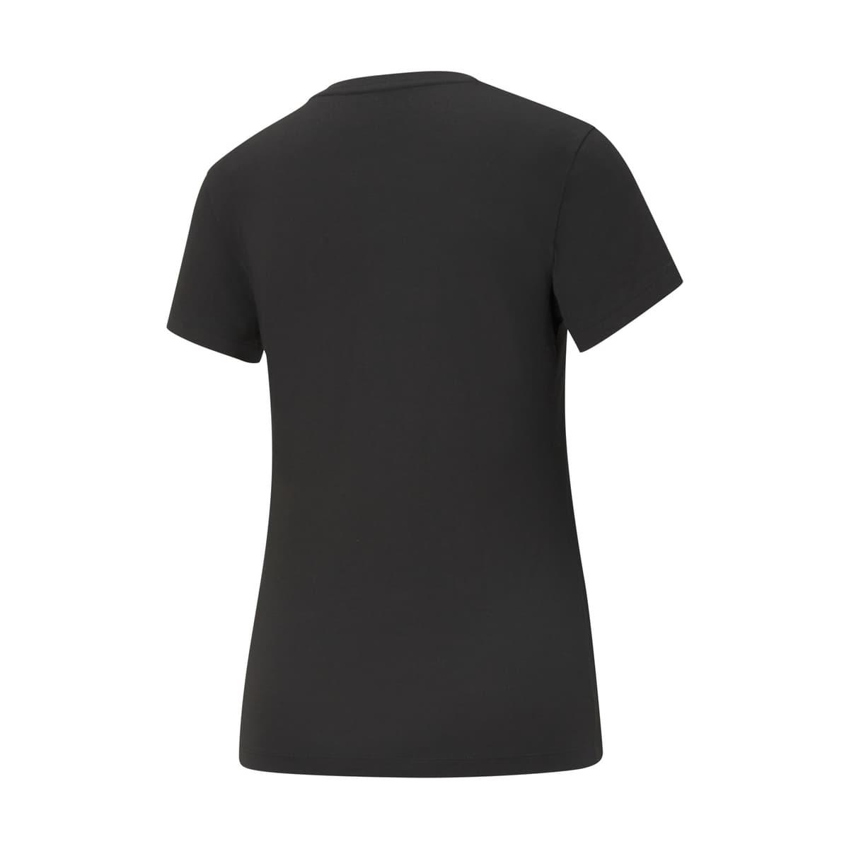 Essential Logo Kadın Siyah Tişört (586774-01)