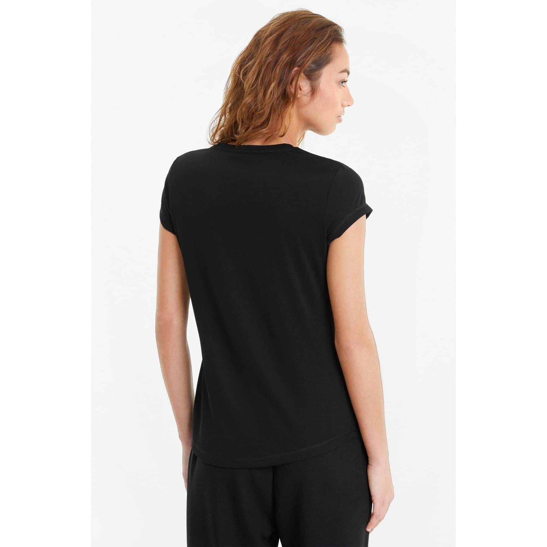 Active Short-Sleeve Kadın Siyah Tişört (586857-01)