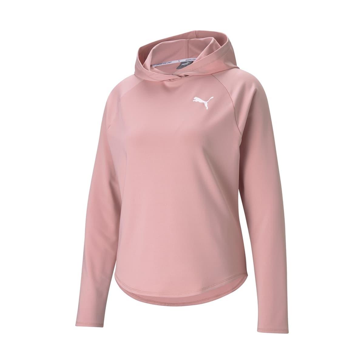 Active Kadın Pembe Kapüşonlu Sweatshirt (586858-80)