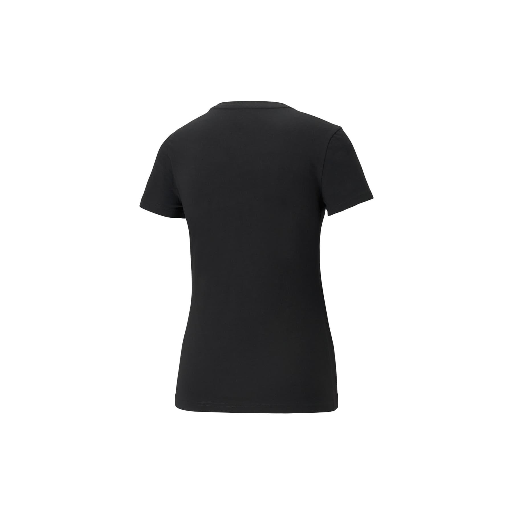 Essentials+ Metallic Kadın Siyah Tişört (586890-51)