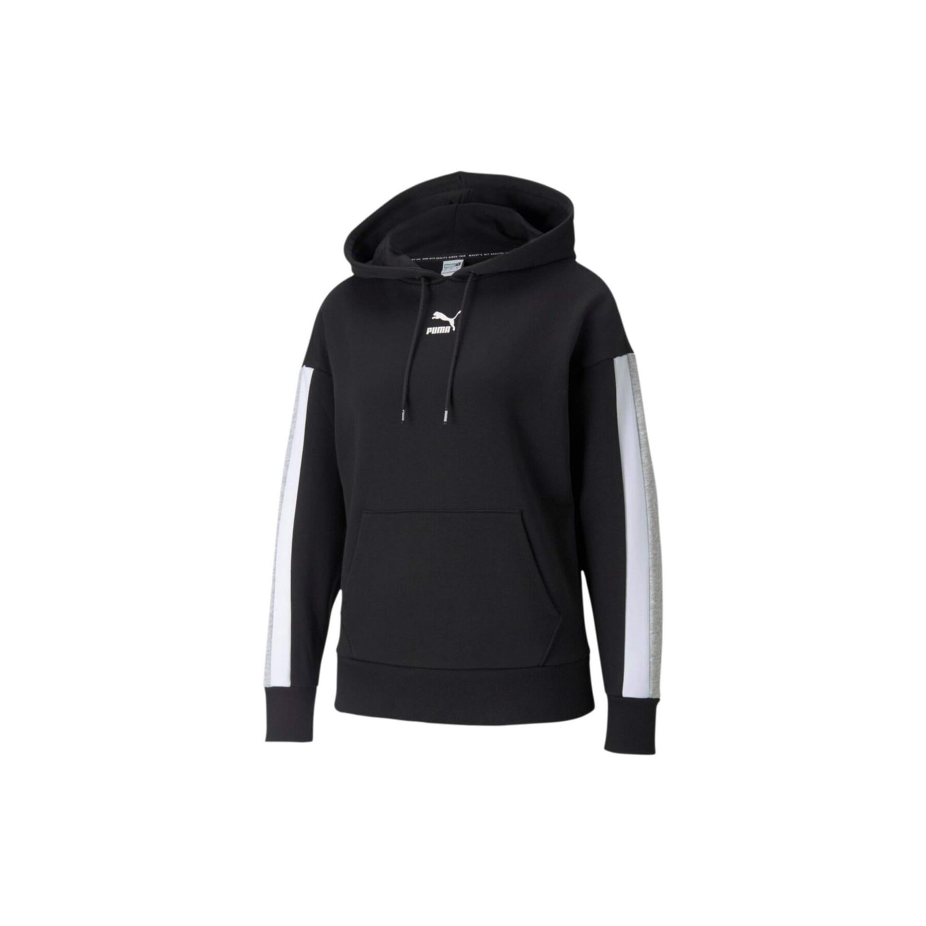 CLSX Kadın Siyah Kapüşonlu Sweatshirt (589768-01)