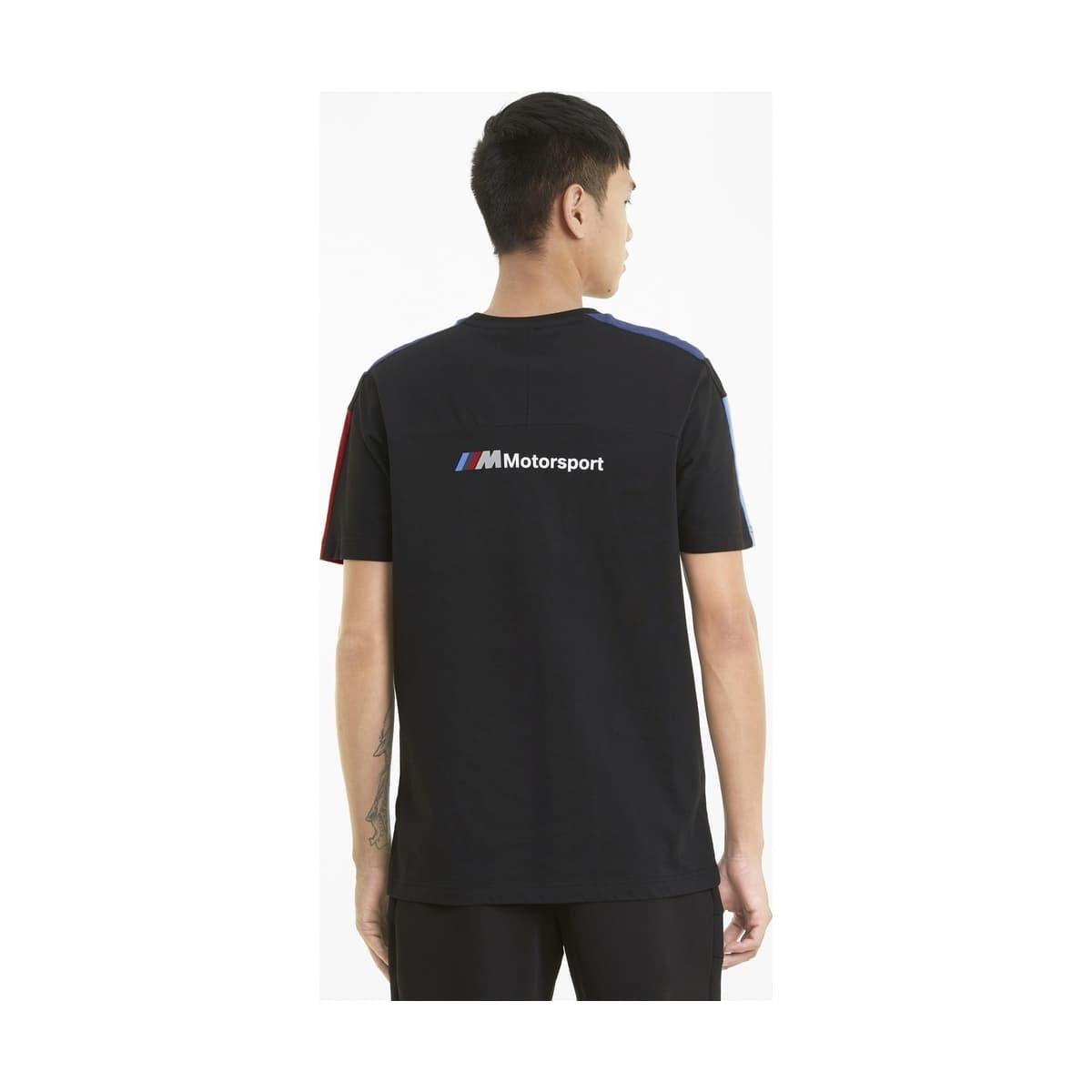 Bmw Motorsport T7 Erkek Siyah Tişört (599516-01)