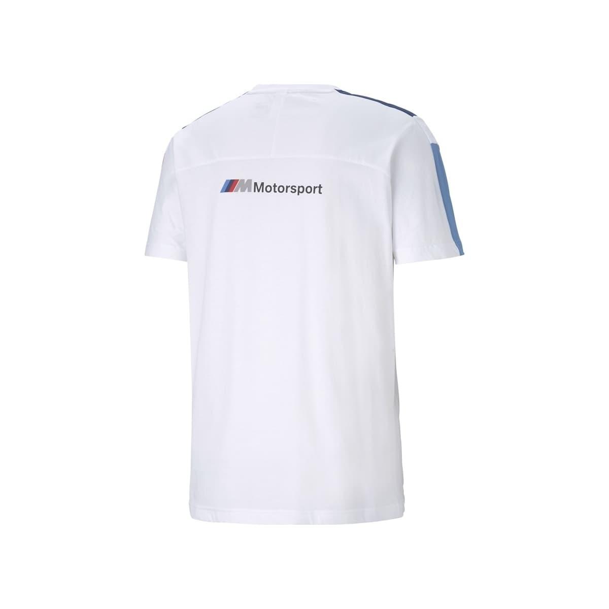 Bmw Motorsport T7 Erkek Beyaz Tişört (599516-02)