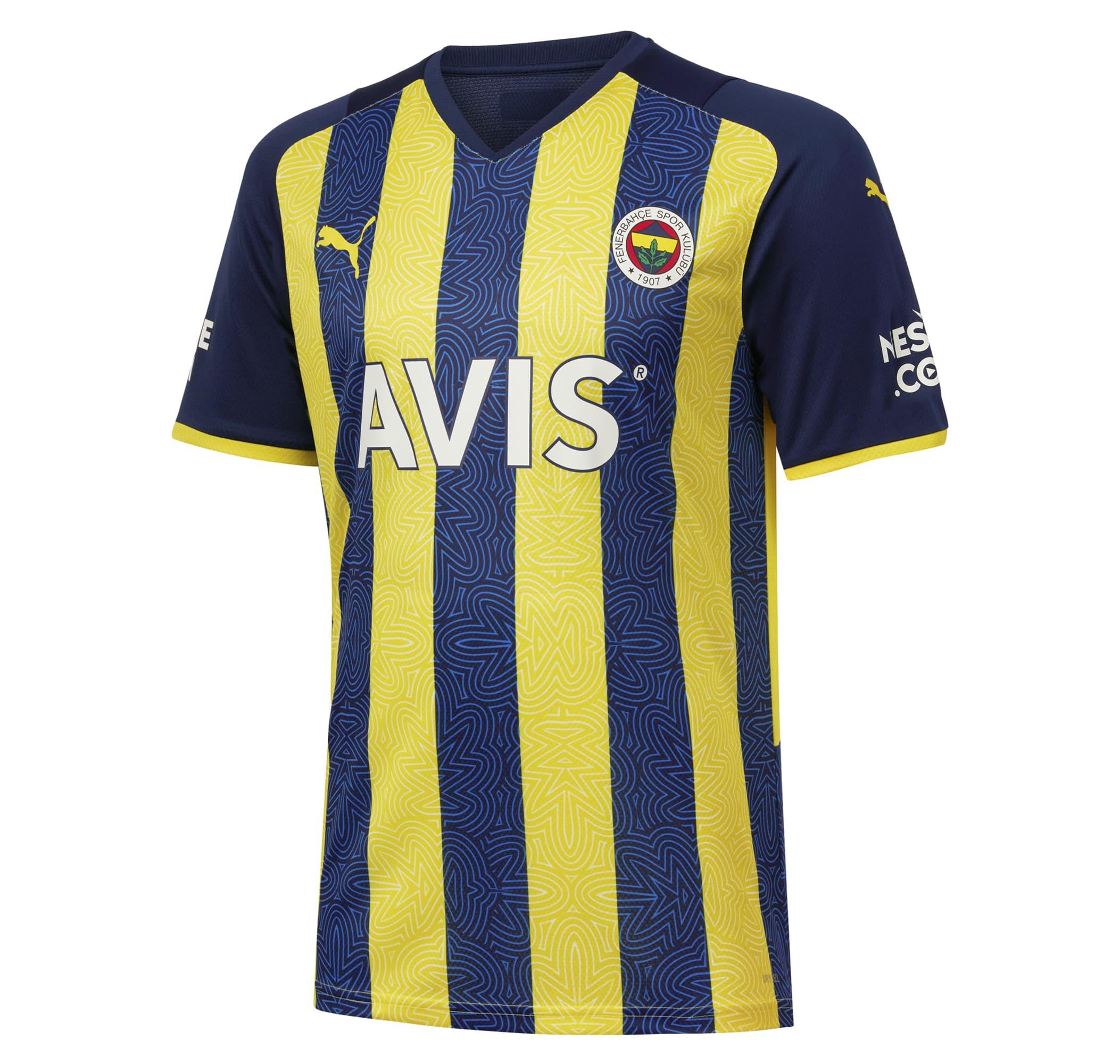 Fenerbahçe SK Çubuklu Erkek İç Saha Forması (767002-01)
