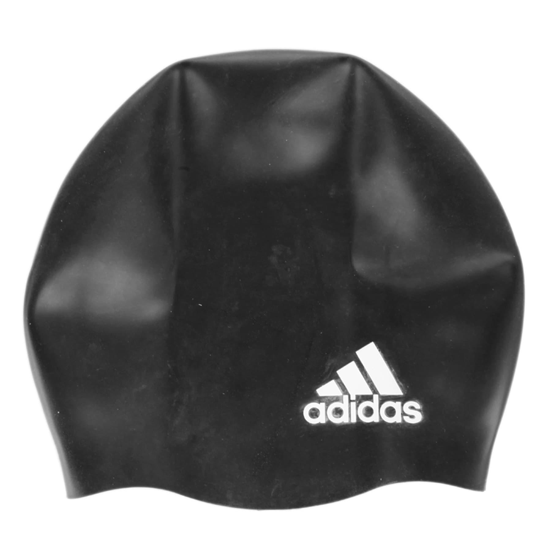 adidas Slikon Logo Siyah Yüzücü Bonesi (802316)