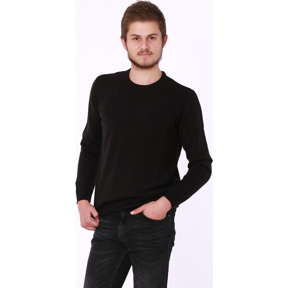 Mavi Jeans Erkek Siyah Basic Kazak