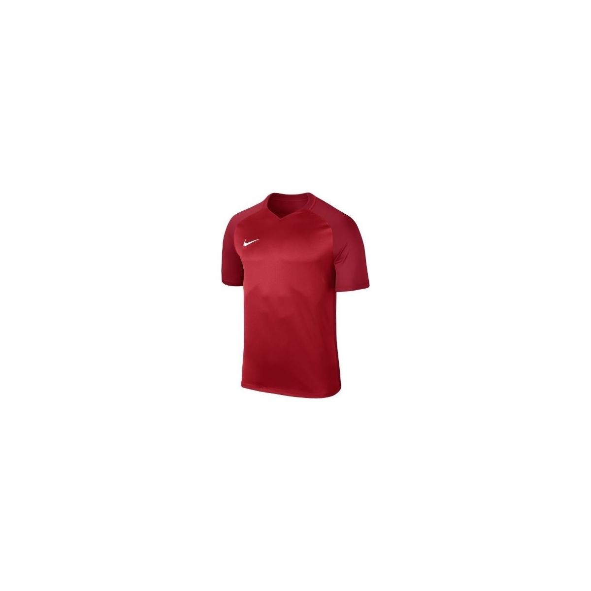 Dry Trophy III Jersey Erkek Bordo Forma (881483-677)