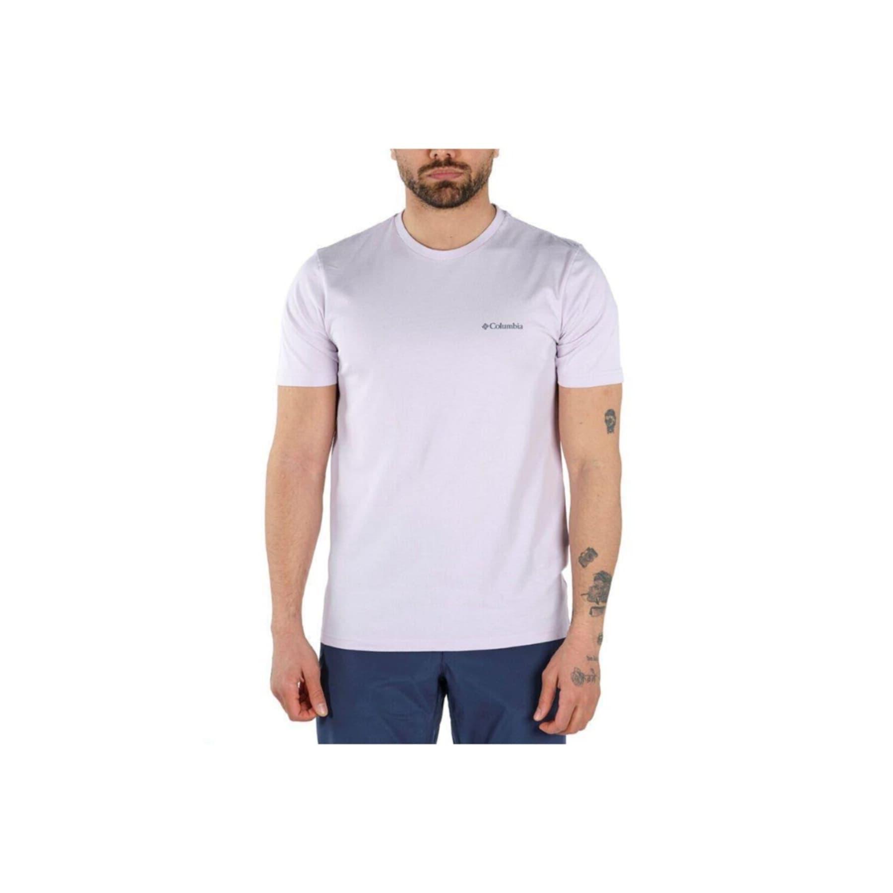 CSC Basic Erkek Mor Tişört (CS0002_584)
