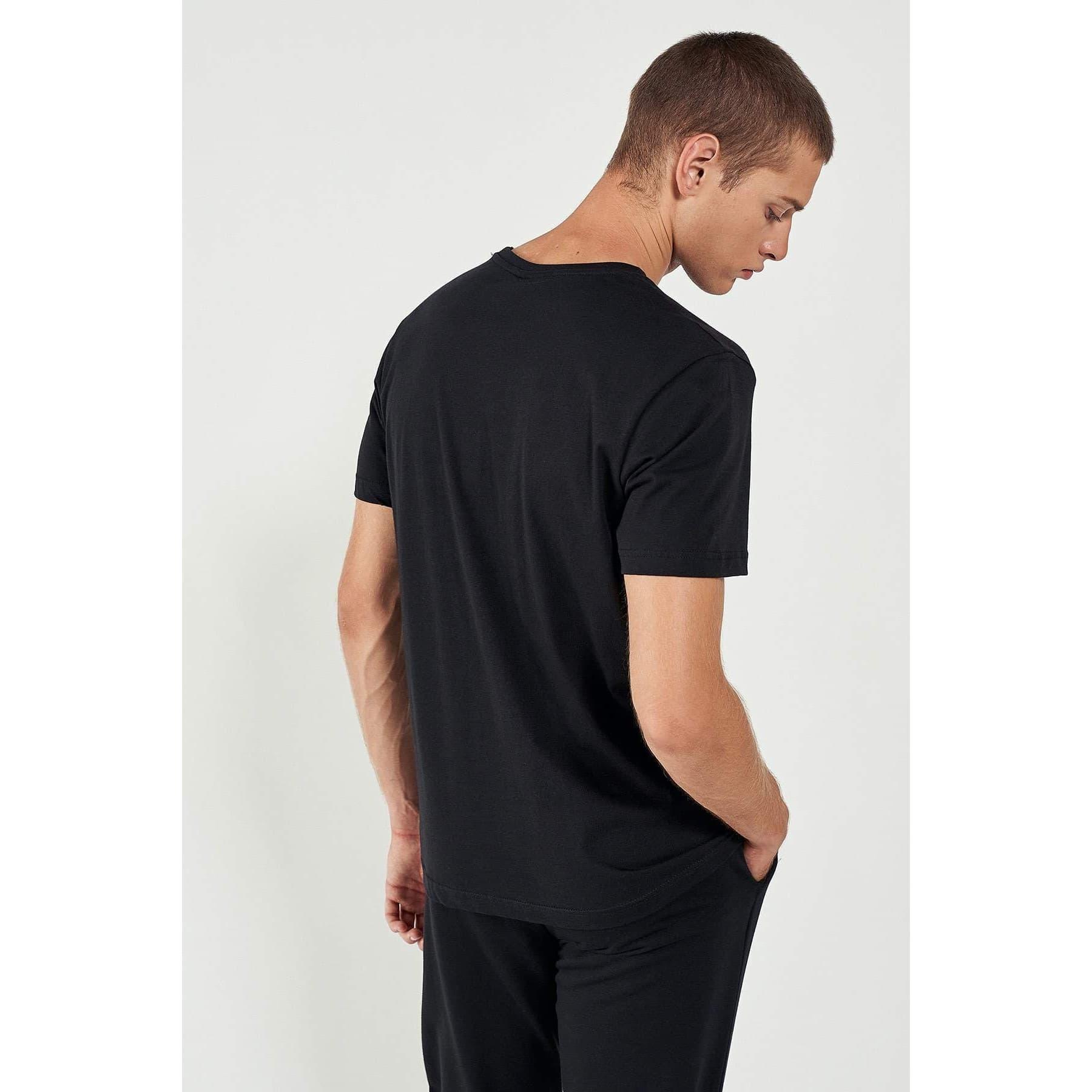 Cosenza Erkek Siyah Tişört (911303-2001)