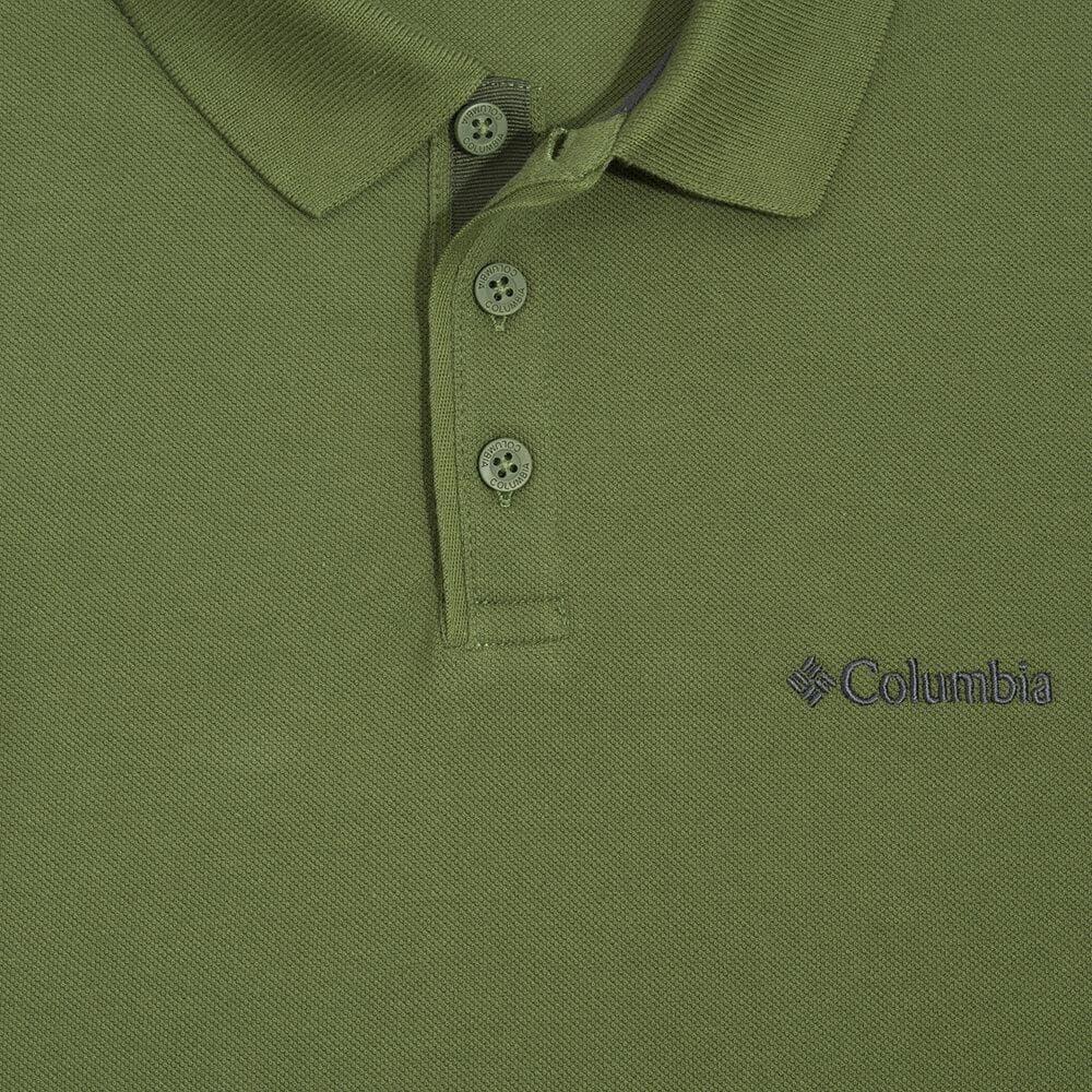 Cascade Range Solid Erkek Haki Polo Yaka Tişört