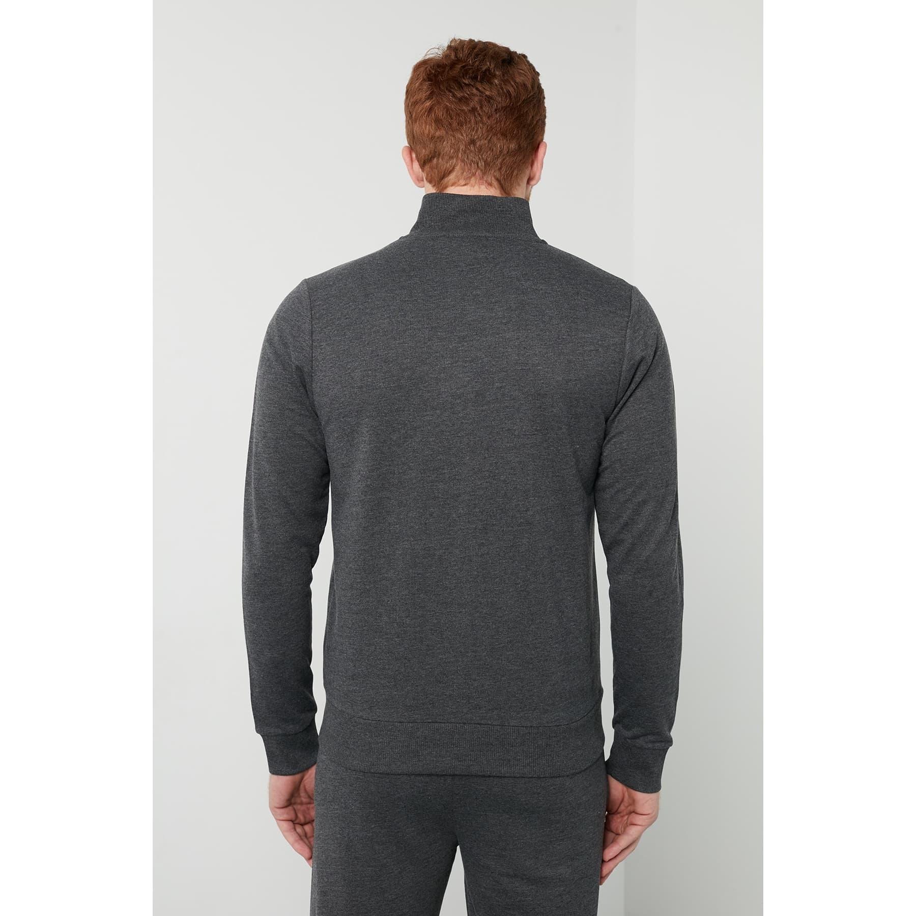 Casal Erkek Siyah Zip Ceket (920000-2001)