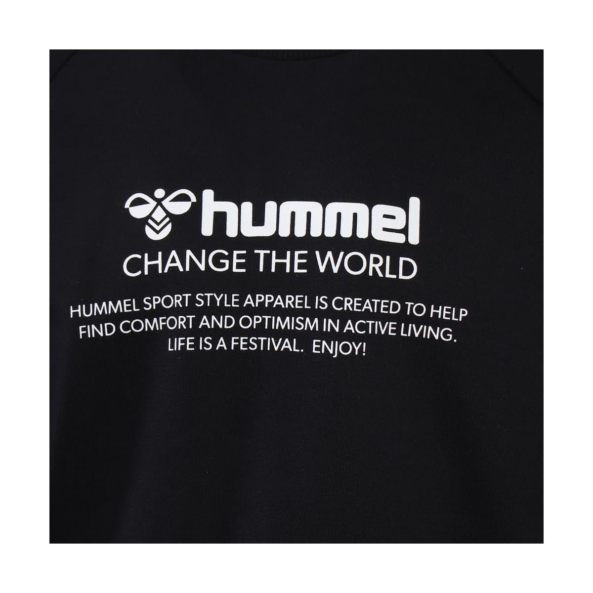 Hummel Numas Erkek Siyah Sweatshirt (921116-2001)