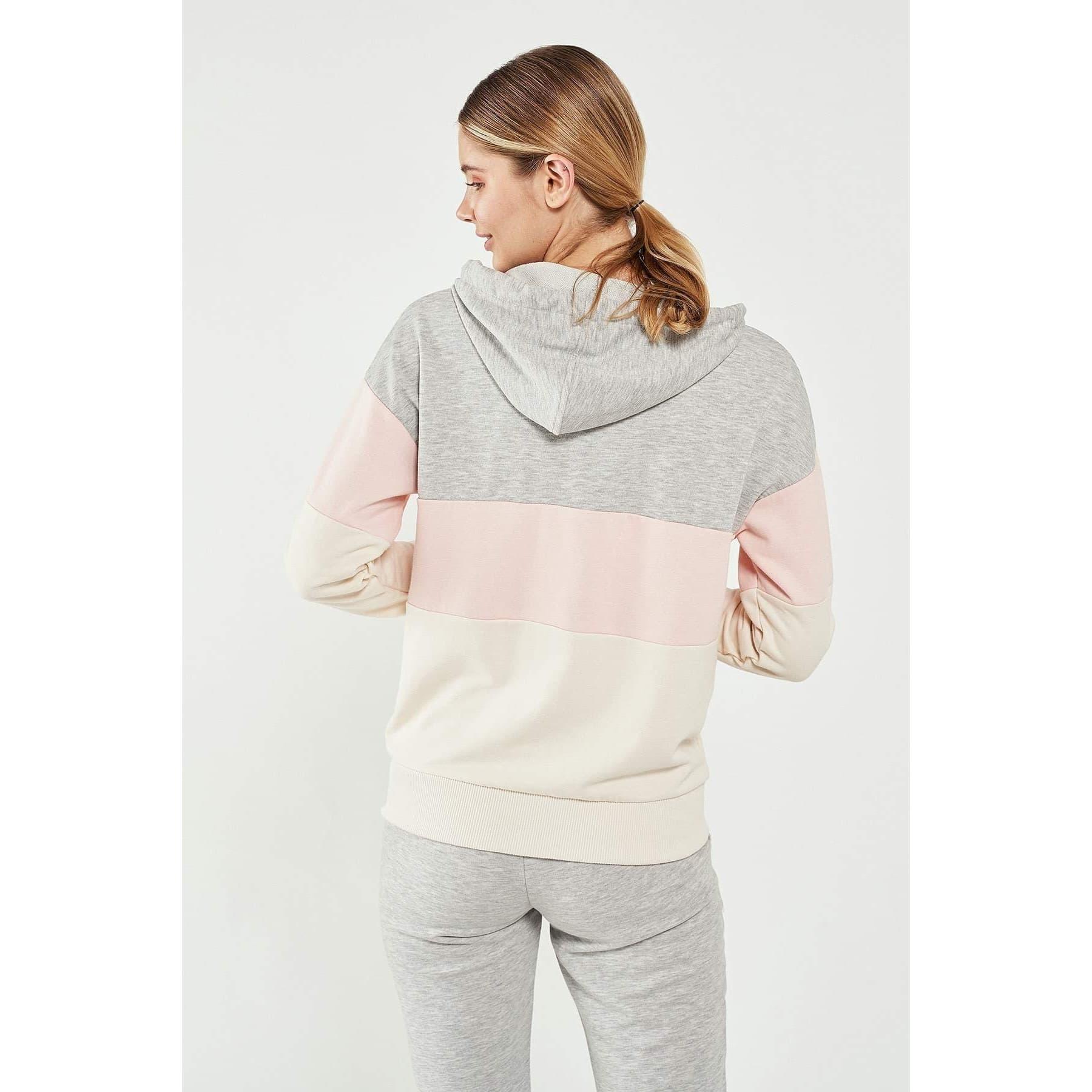 Gozetti Kadın Gri Fermuarlı Sweatshirt (921165-2010)