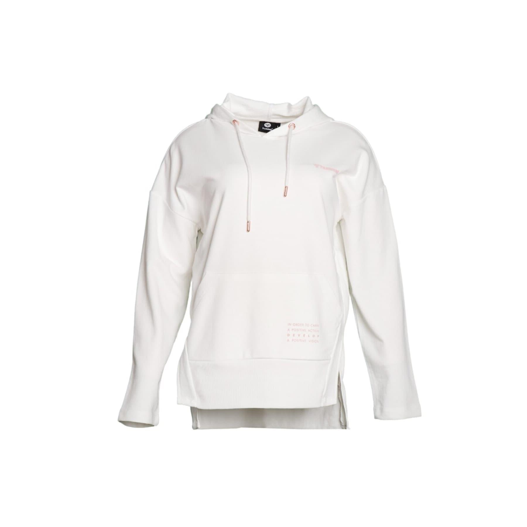 Davina Kadın Beyaz Kapüşonlu Sweatshirt (921234-1321)
