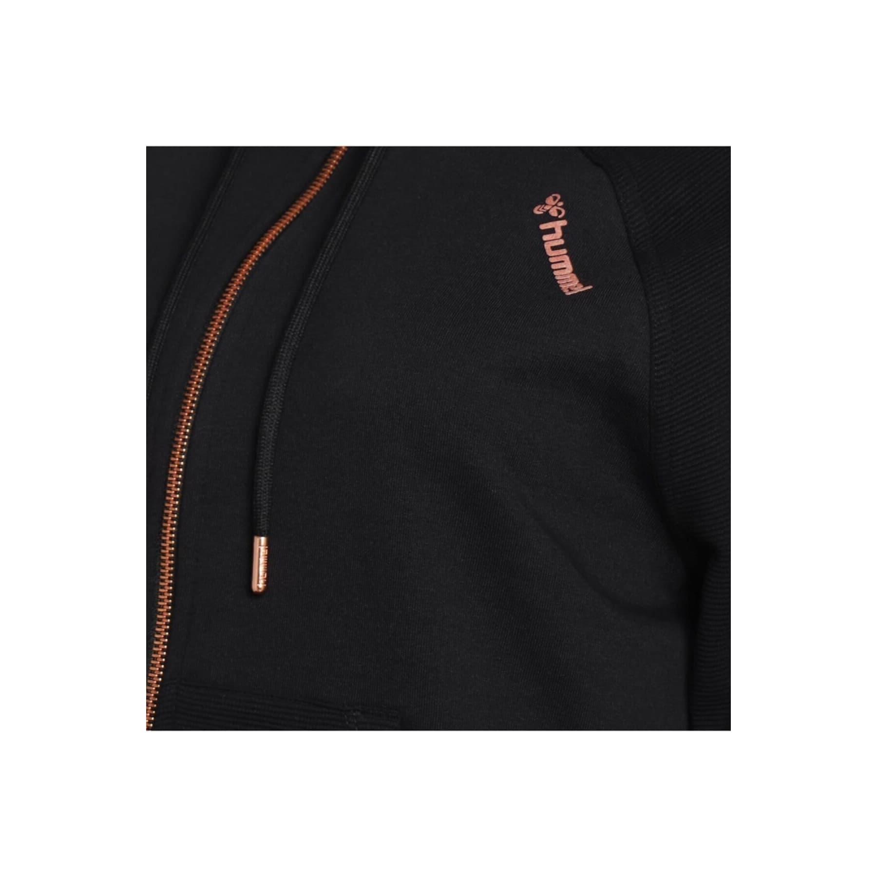 Dina Kadın Siyah Fermuarlı Sweatshirt (921238-2001)