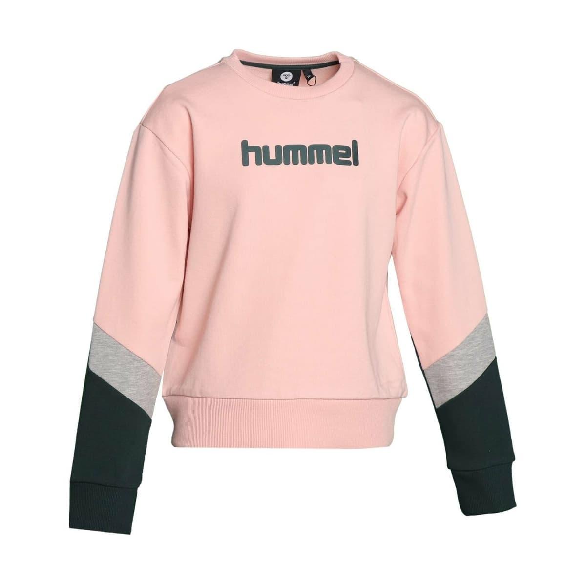 Hummel Halley Çocuk Pembe Sweatshirt (921251-3026)