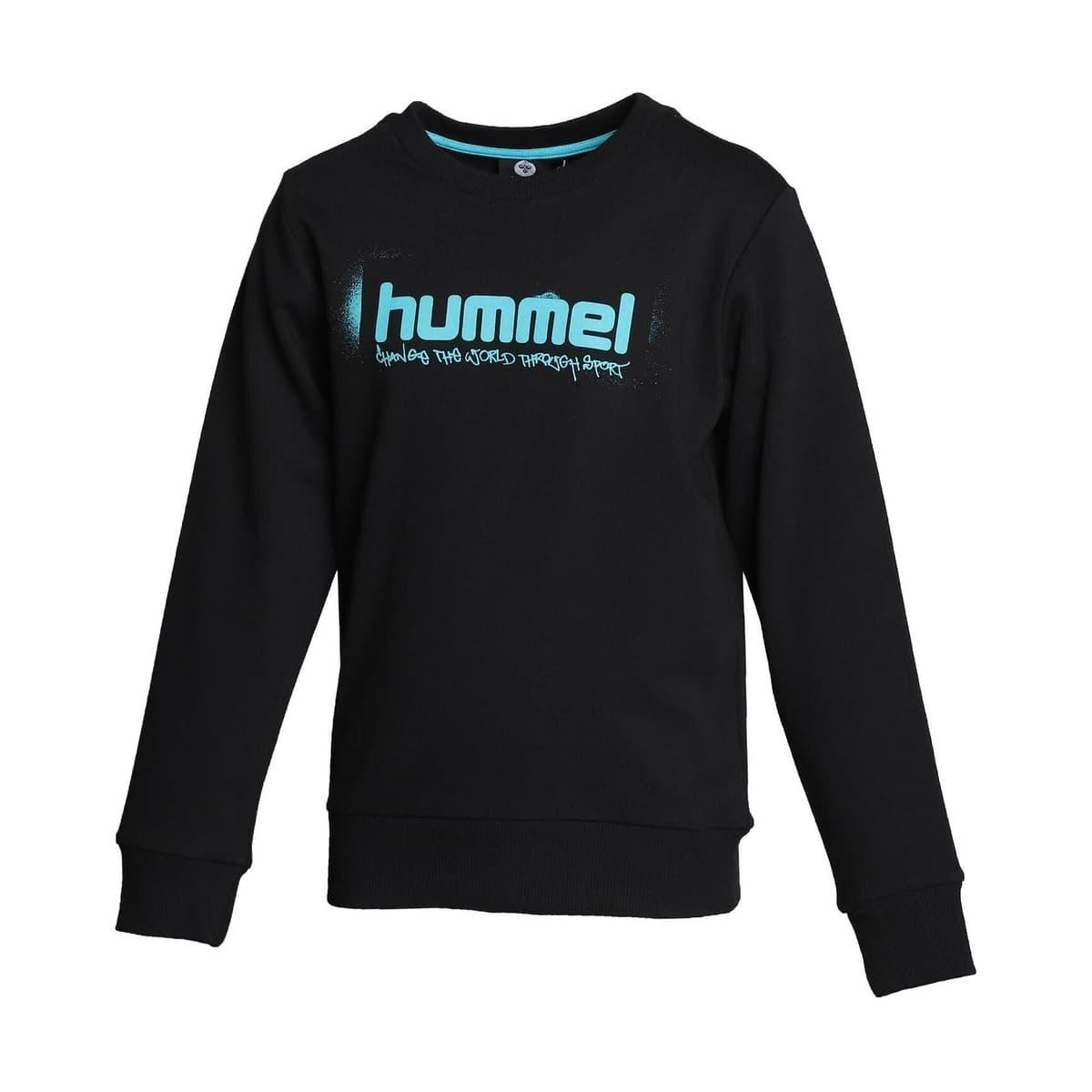 Hummel Neo Çocuk Siyah Sweatshirt (921302-2001)