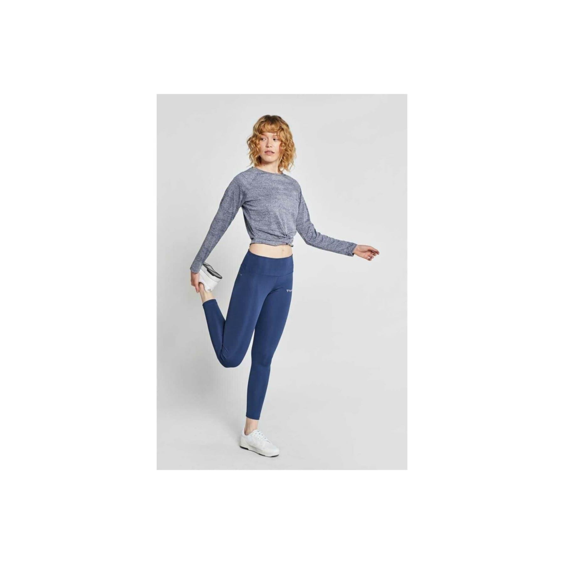 Buena Kadın Mavi Spor Tayt (931035-9968)