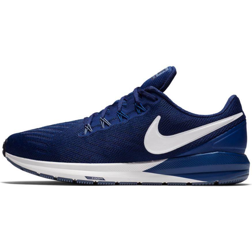 Air Zoom Structure 22 Erkek Mavi Koşu Ayakkabısı