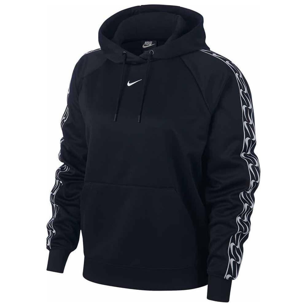 Sportswear Kapüşonlu Kadın Siyah Sweatshirt (BV3449-010)