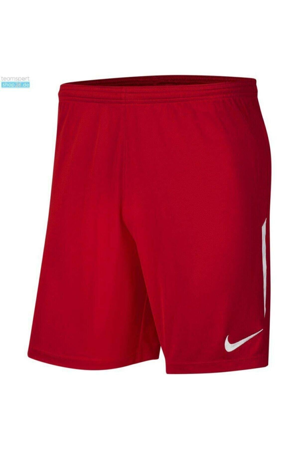 Dri-Fit Knit ll Erkek Kırmızı Futbol Şortu (BV6852-657)