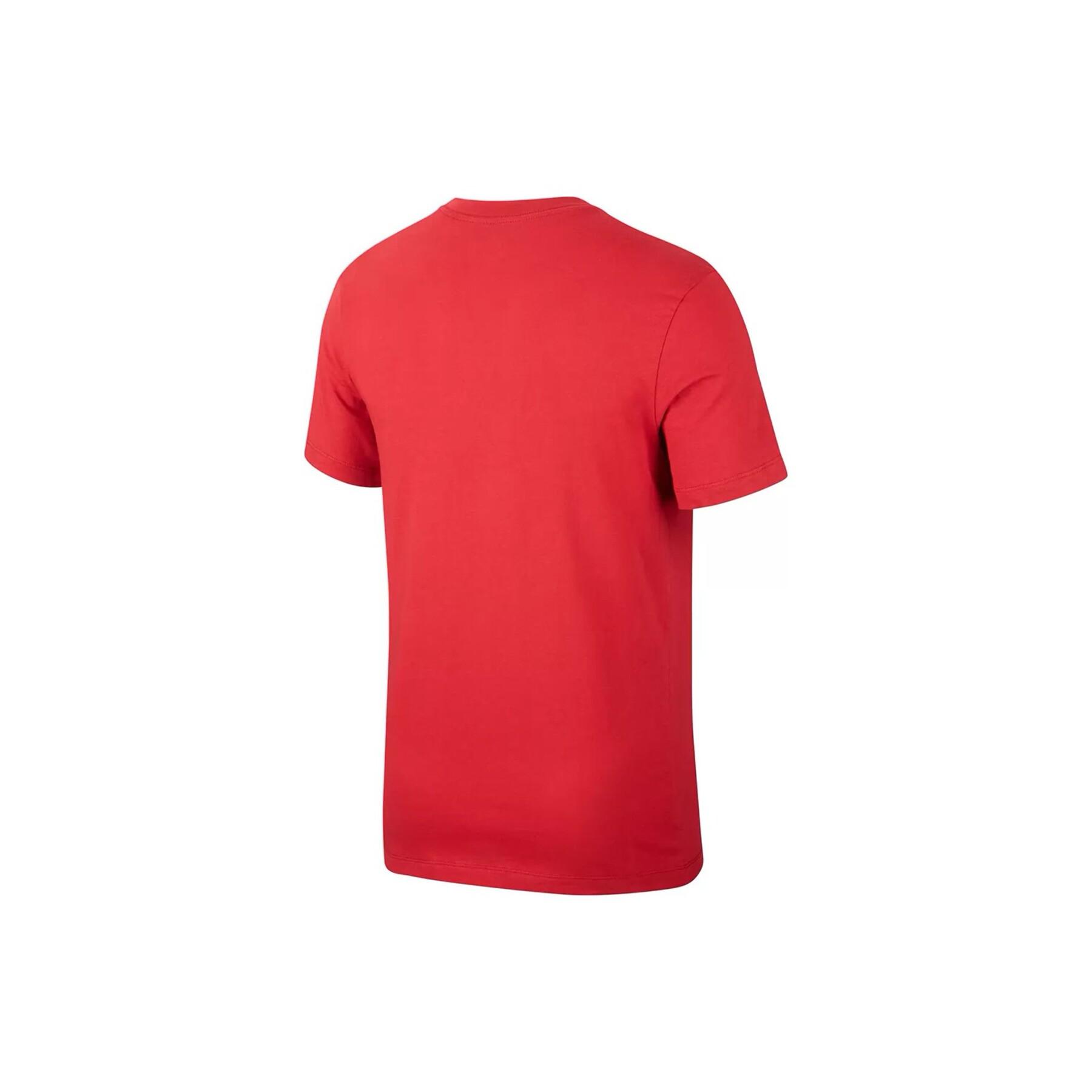 Galatasaray Tr Ground Erkek Kırmızı Futbol Tişörtü
