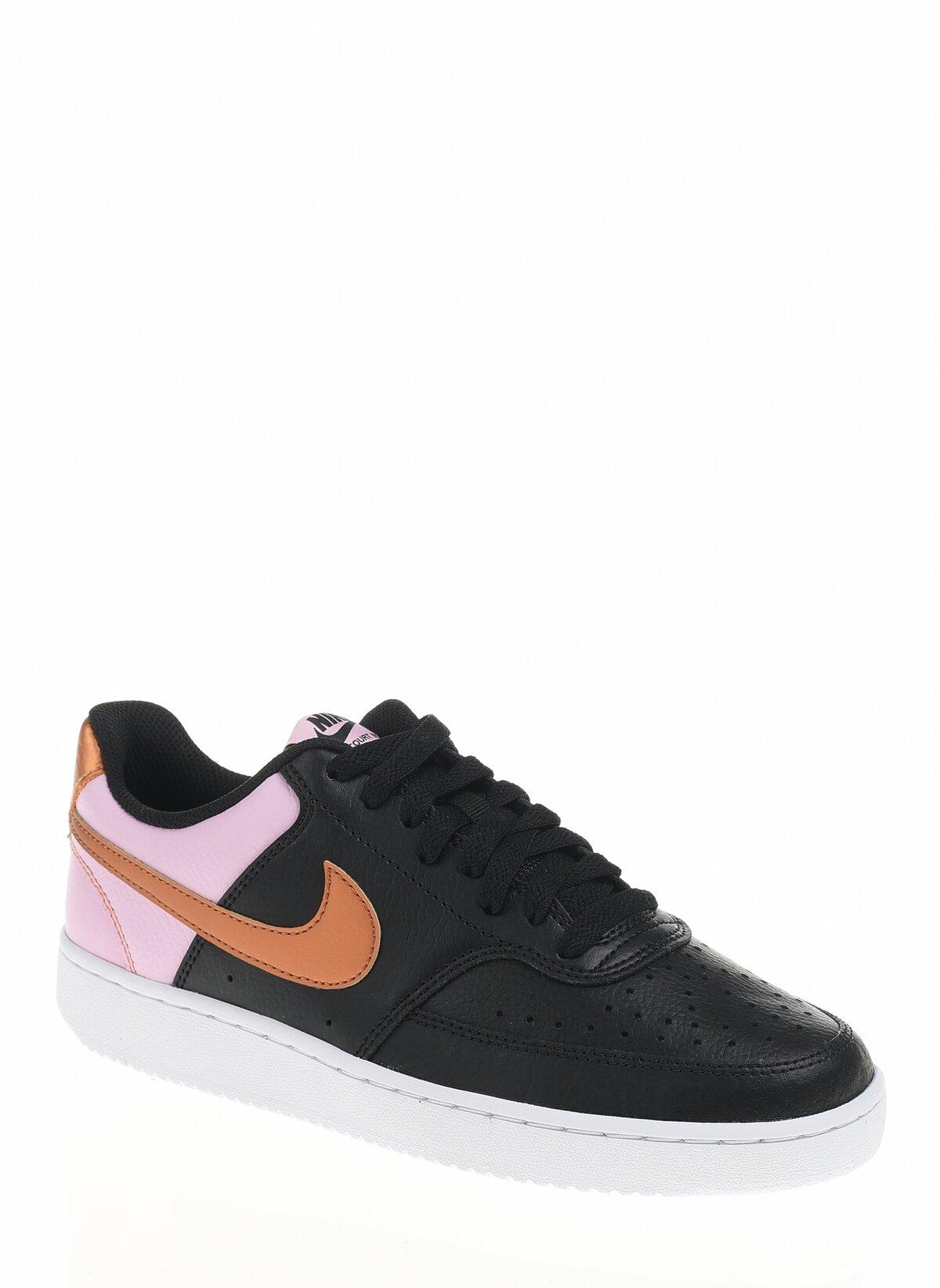 Court Vision Low Kadın Siyah Spor Ayakkabı (CD5434-004)