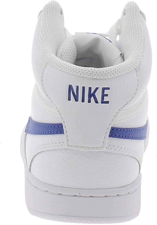 Court Vision Mid Erkek Beyaz Spor Ayakkabı (CD5466-103)