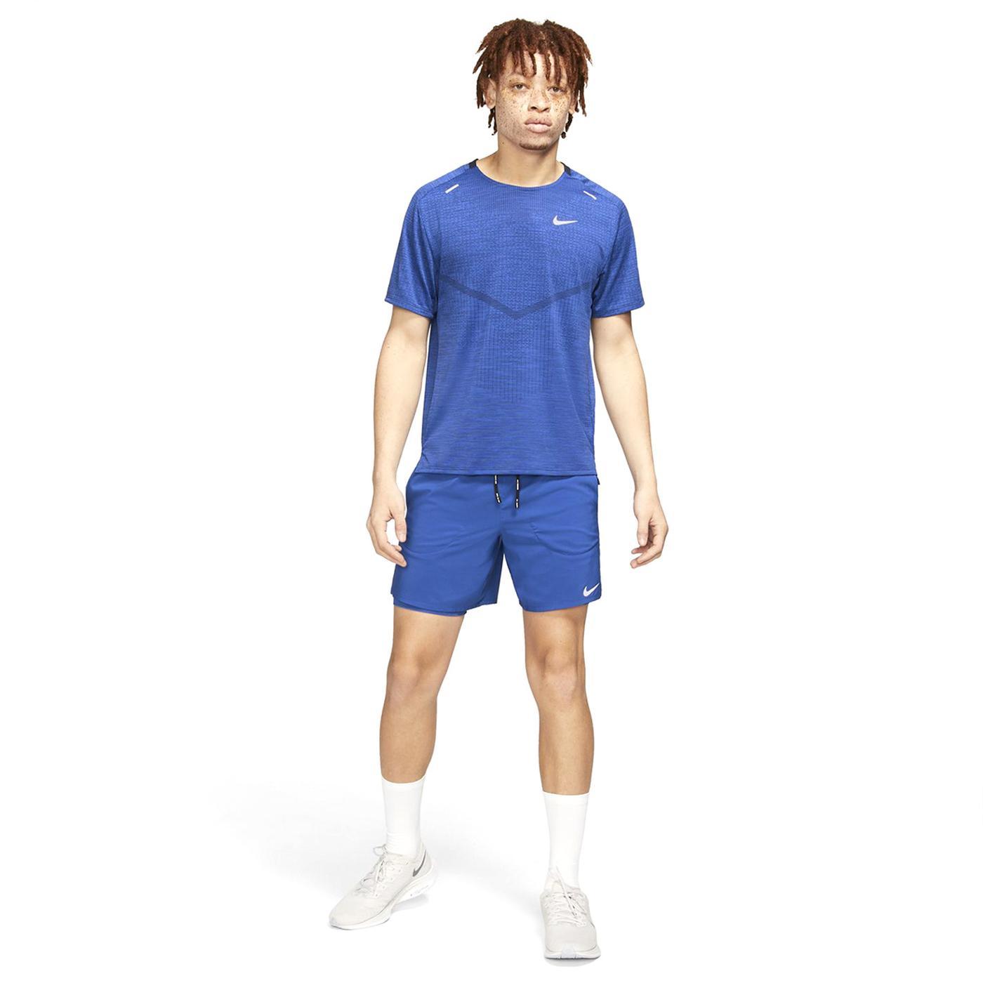 Flex Stride 2 in 1 Erkek Mavi Koşu Şortu (CJ5471-480)
