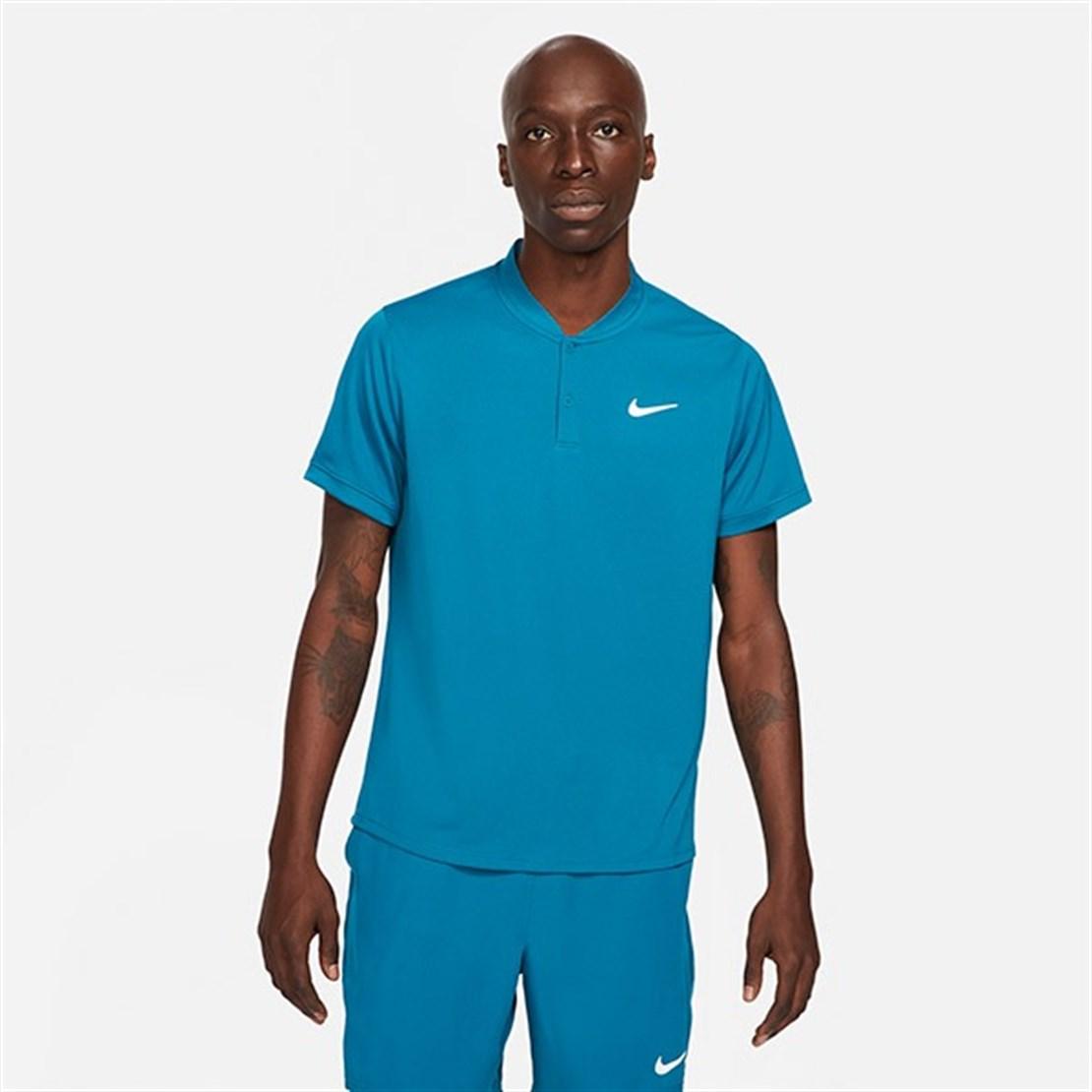 Court Dri-FIT Erkek Yeşil Tenis Polo Tişört (CW6288-301)