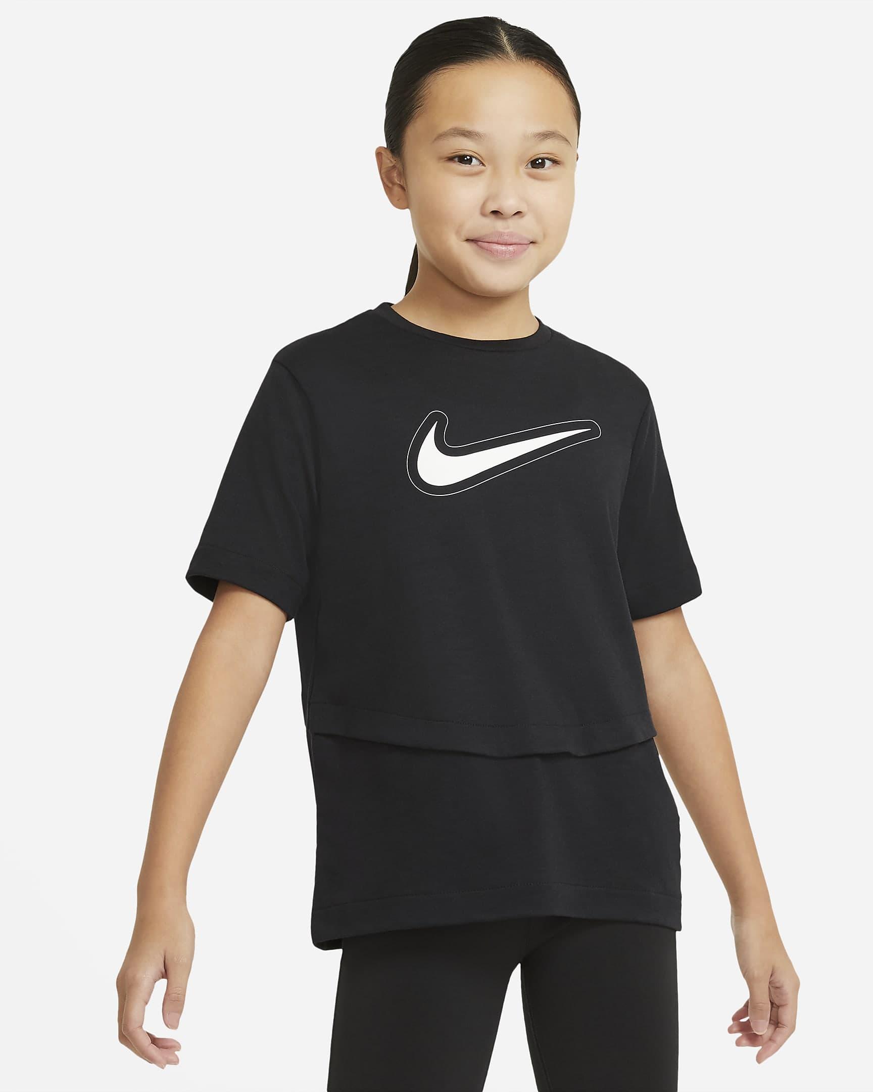 Dri-FIT Trophy Çocuk Siyah Antrenman Üssü (DA1096-010)