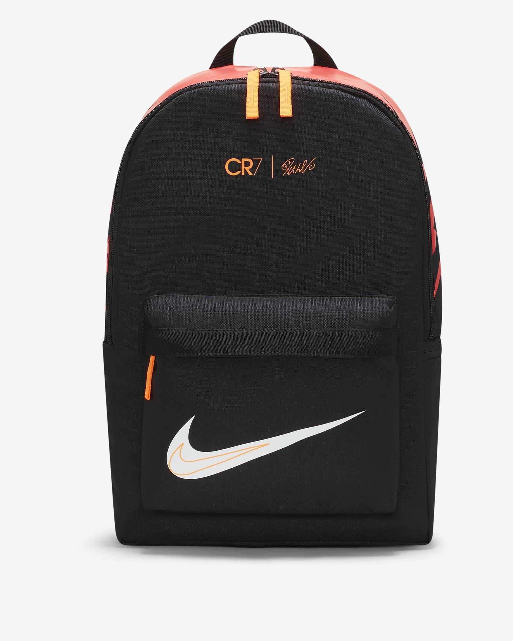 CR7 Çocuk Siyah Futbol Sırt Çantası (DA7258-010)