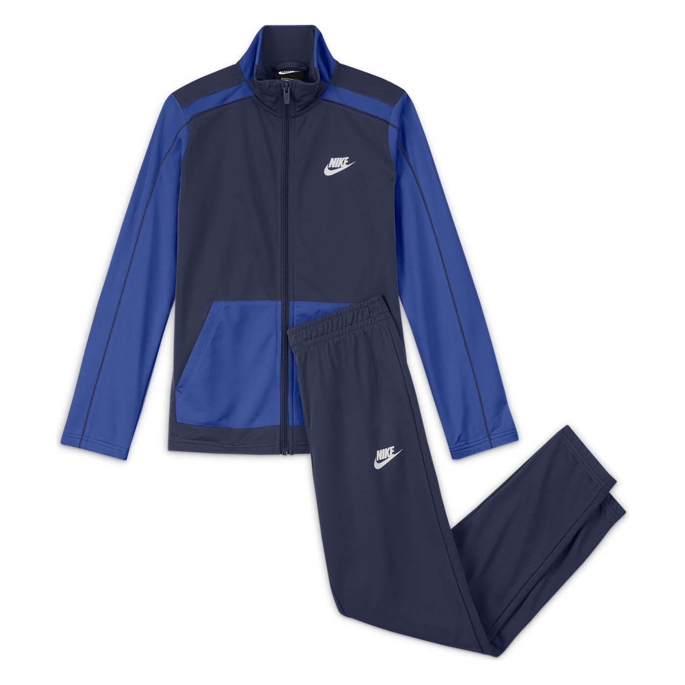 Futura Poly Cuff Çocuk Mavi Eşofman Takımı (DH9661-410)