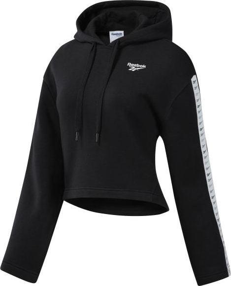 Classics Vector Kadın Siyah Sweatshirt
