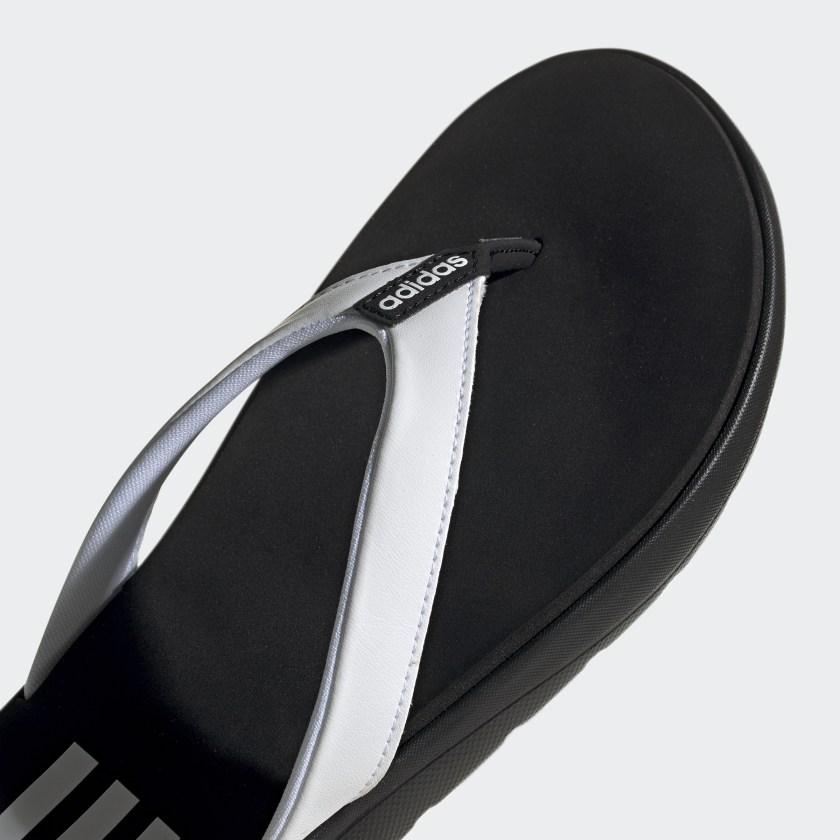 Comfort Parmak Arası Kadın Siyah Terlik