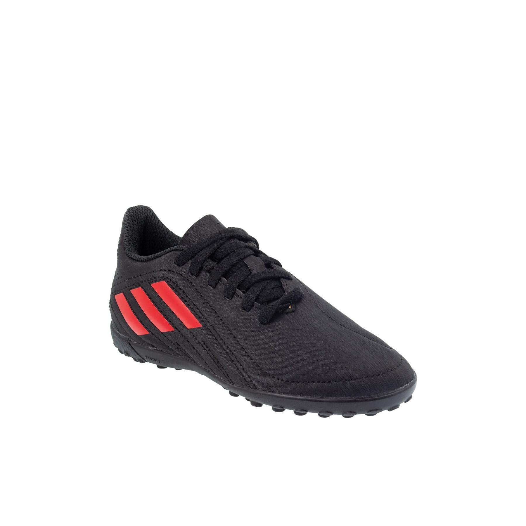 Deportivo Çocuk Siyah Halı Saha Ayakkabısı