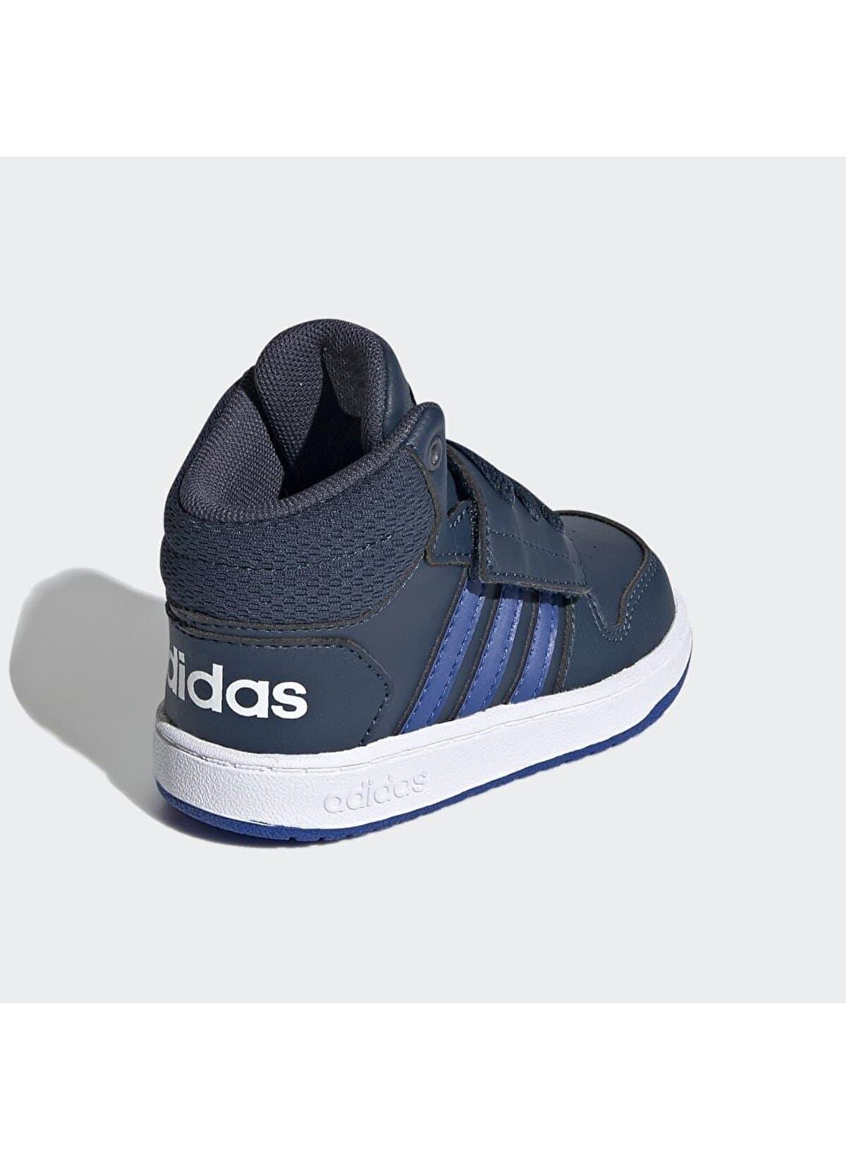 Hoops MID 2.0 Çocuk Mavi Spor Ayakkabı (FY9289)