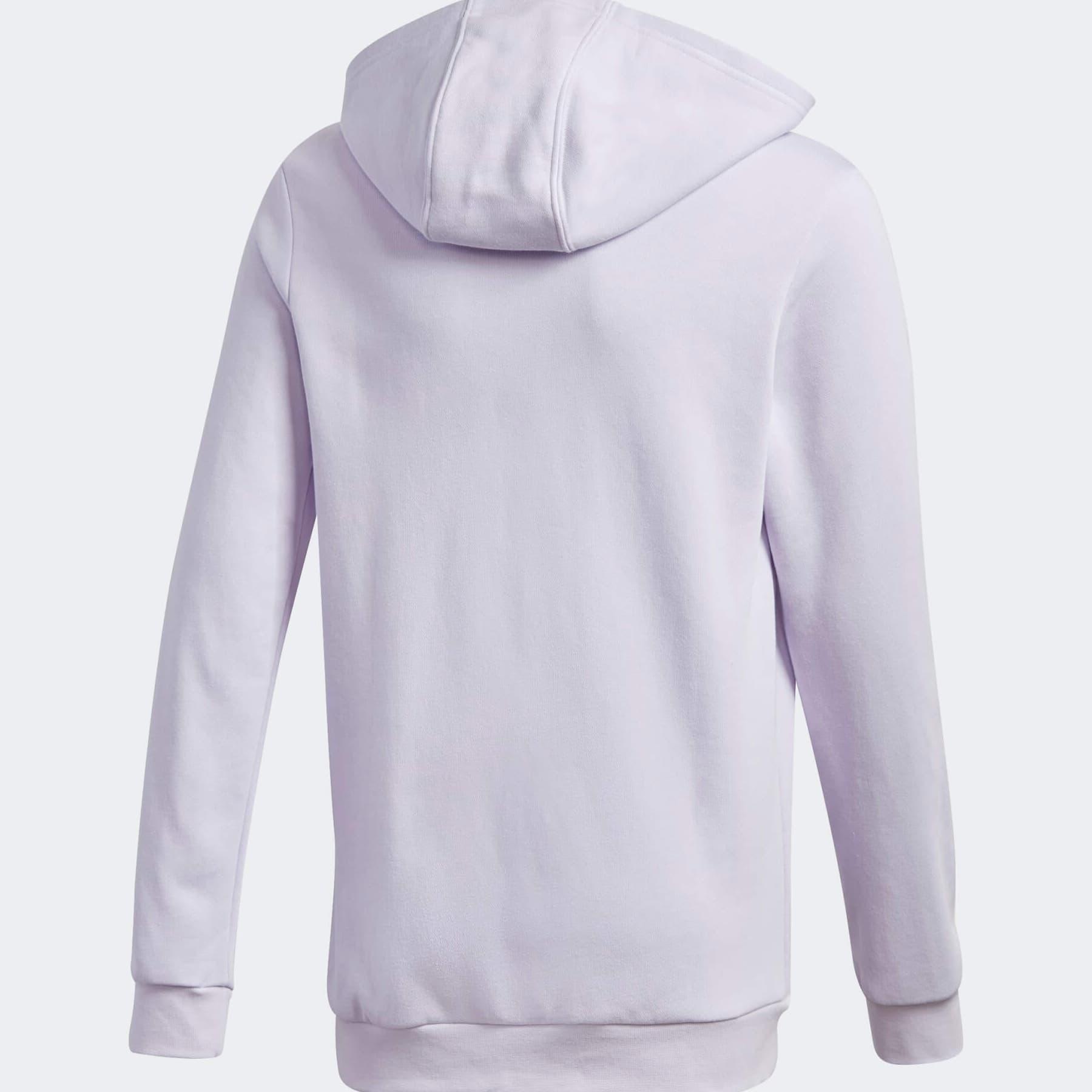 adidas Kapüşonlu Çocuk Mor Sweatshirt