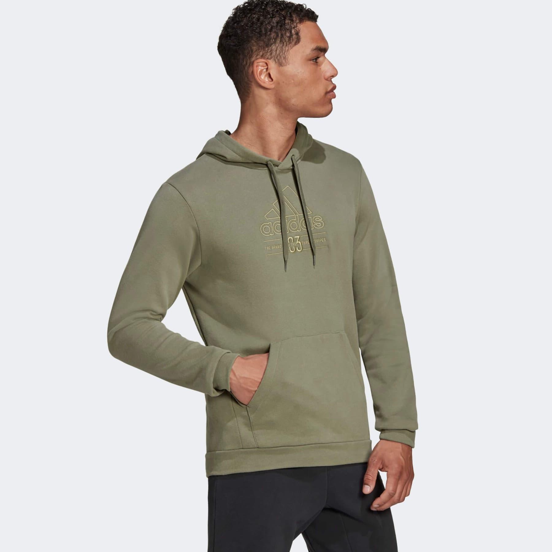 Brilliant Basics Erkek Yeşil Sweatshirt