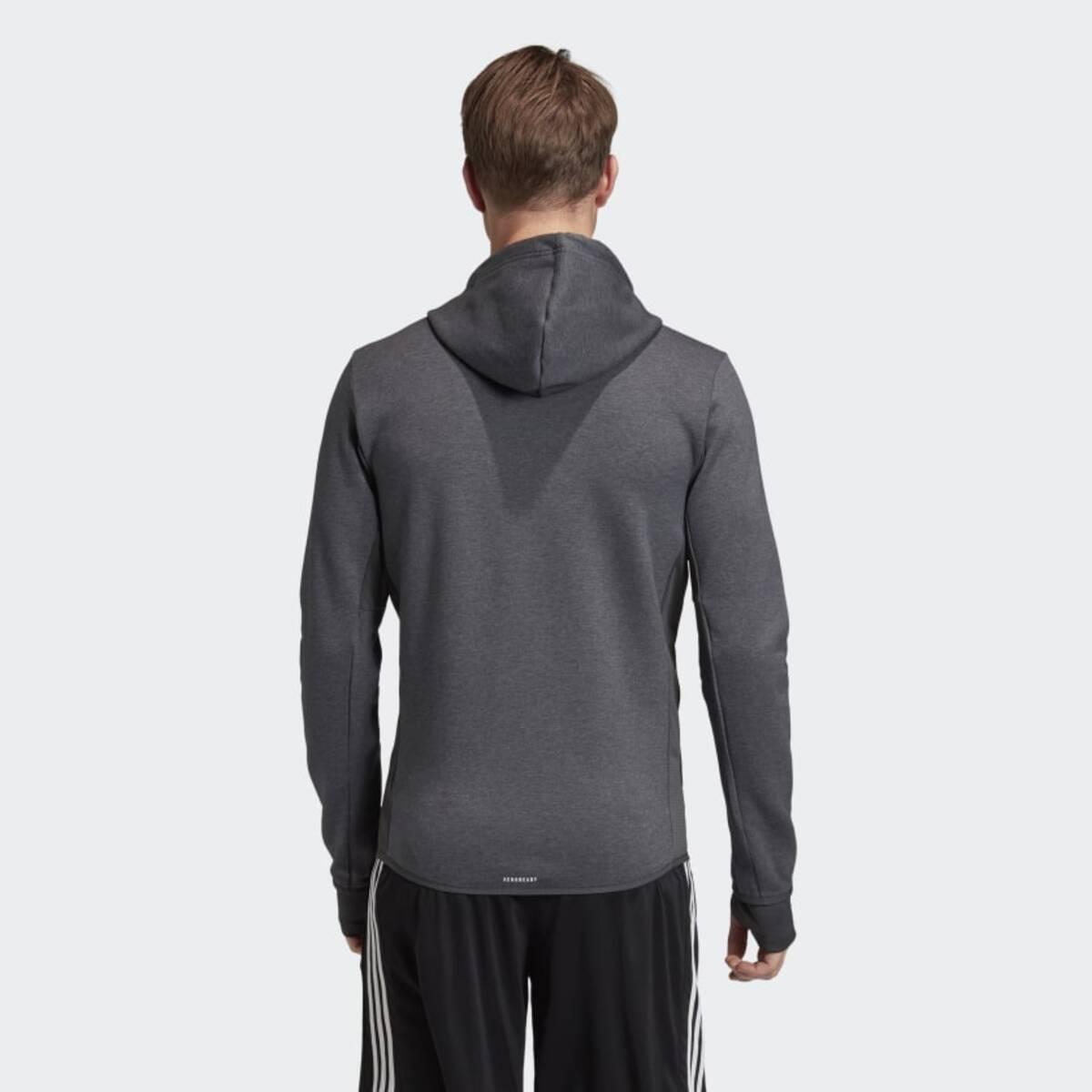 Designed to Move Motion Erkek Kapüşonlu Gri Spor Üst