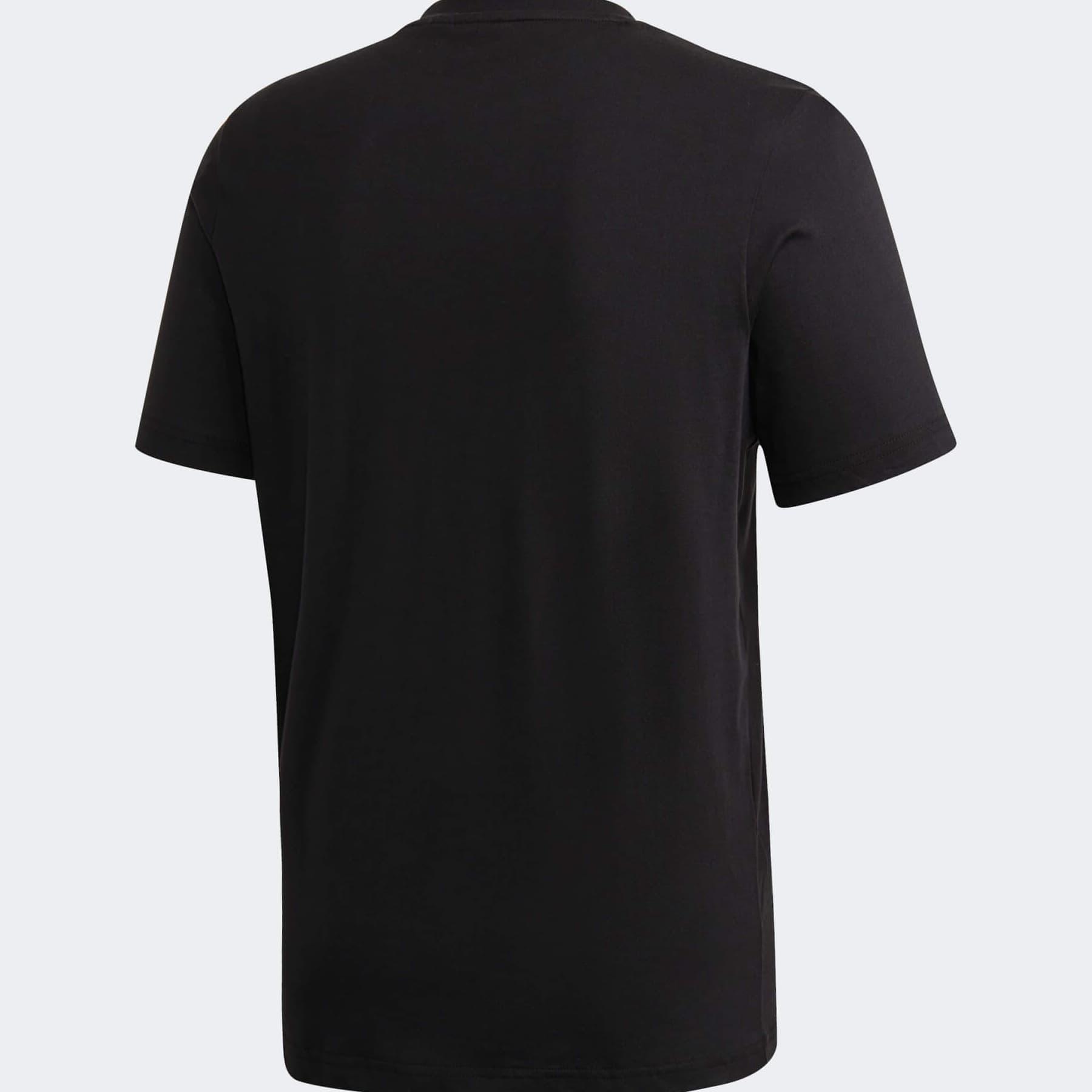 Brushstroke Erkek Siyah Tişört