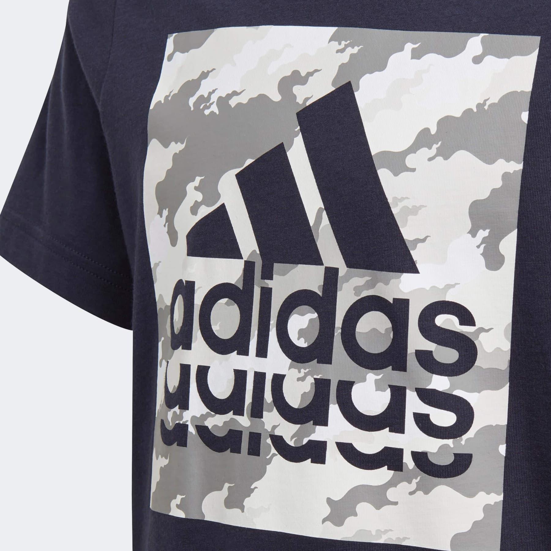 Graphic Çocuk Mavi Tişört