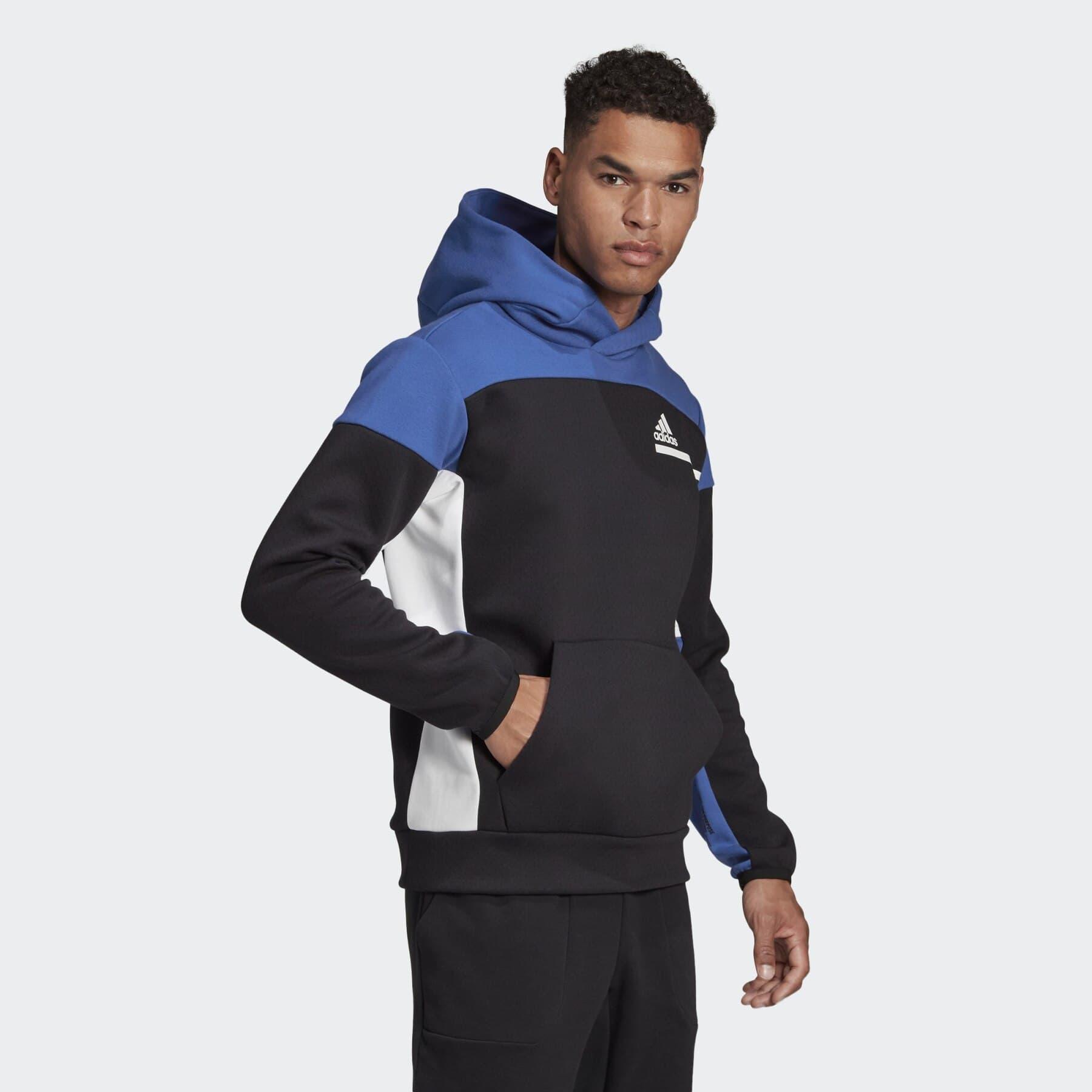 adidas Z.N.E. Pullover Erkek Siyah Sweatshirt